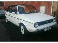 VW Mk1 Golf Gti CC Limited edition 1986
