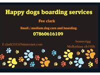 HAPPY DOGS BOARDING AND WALKING SERVICES SMALL/MEDIUM DOGS