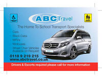 Minibus for hire with driver upto 15 passengers - ABC TRAVEL 0118 9696969 free quotes