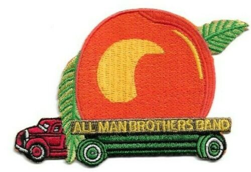 """The Allman Brothers Band """"Eat a Peach"""" Truck Embroidered Iron or Sew On Patch"""