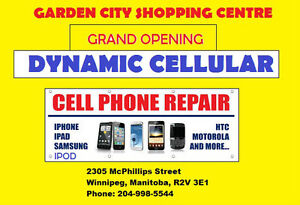 Opening Soon:  Dynamic Cellular in Garden City Mall.