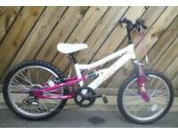 Apollo charm bicycle brand new unwanted gift 6 speed gears shimano, suit 6 to 7 years and up £60.