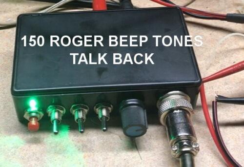 150 tone ROGER BEEP -TALKBACK 4 pin Cobra CB HAM