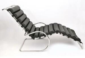 MR Adjustable Chaise Lounge - Full Italian Genuine Leather - Clearance Sale!