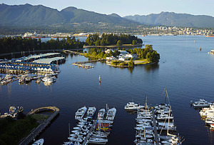 Vancouver Downtown Coal Harbor two bedrooms Condo Apartment