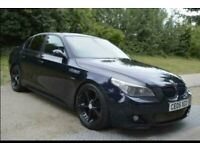 BMW M5 Conversion 535D M Sport Twin Turbo, Automatic, Black with AC Schnitzer Modification, Long MOT