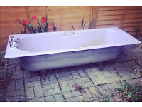 Cast Iron Purple Bath