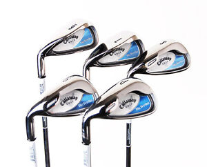New Callaway Big Bertha 2008 Ladies Irons 6i-PW Uniflex LH