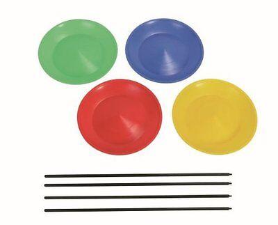 Grevinga® SCHOOL Jonglierteller - verschiedene Farben - 154006