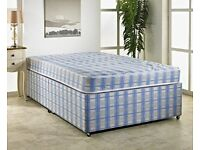 Free double bed (divan bed sets, no drawers, no headboard, no mattress)