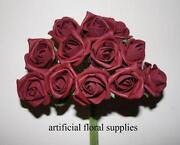 Artificial Burgundy Roses