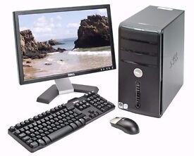 Dell Vostro 200 Intel Core2Duo Dual Core 2.4Ghz WIFI 2GB Ram 160GB Windows 10 / 7 Full PC Computer