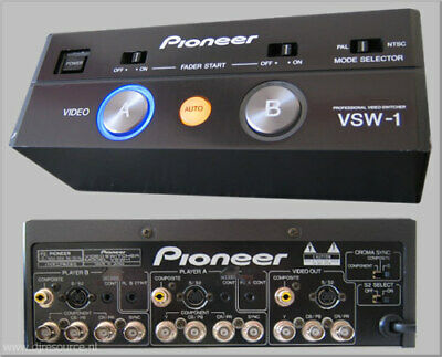 Pioneer VSW-1 Automatic Video Switcher for DVJ-1000 System - -