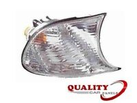 BMW 3 Series E46 Saloon 1998-2001 Front Indicator Light Lamp Clear Drivers Side