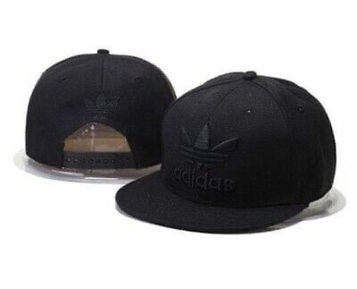 Adult Unisex Snapback Adidas Cap .full black   With a Huge Sell . Free Delivery