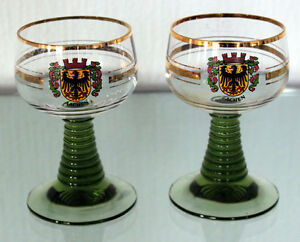2 Classic German Roemer Glasses