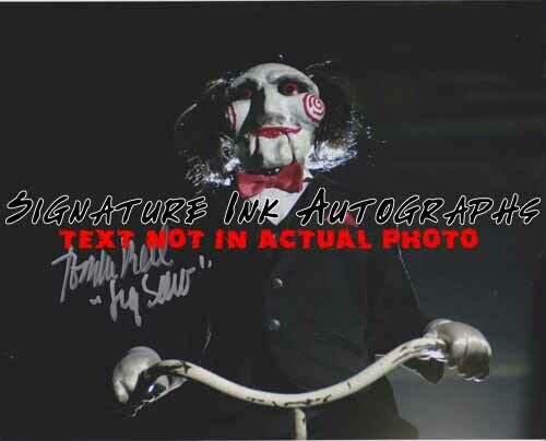 Tobin Bell Signed 8x10 Autographed Photo reprint
