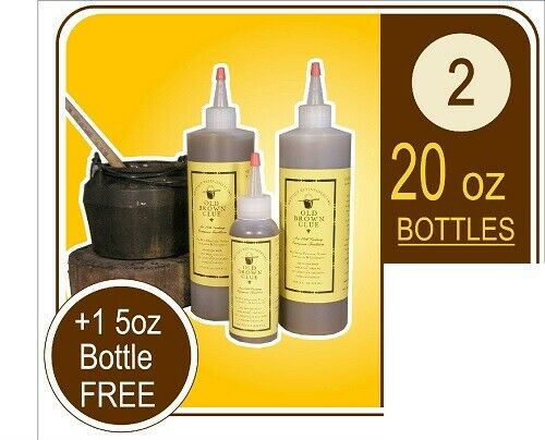 Liquid Hide Glue - Old Brown Glue Strong, Organic, Non-Toxic