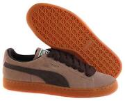 Mens Brown Puma Trainers