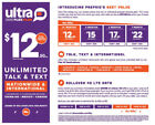 Ultra Mobile T-Mobile 4G SIM Cards