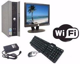 Dell Optiplex 755 USFF Media Centre PC WIFI Core2Duo 2.2Ghz 2GB 160GB Full Computer Windows 10 / 7