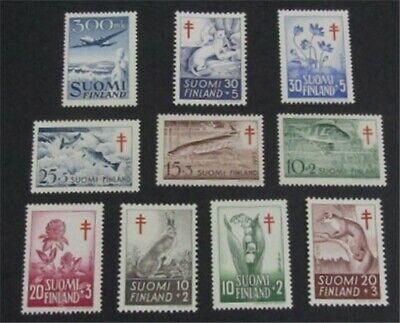 nystamps Finland Stamp # B126//C3 Mint OG H/NH $35   L23y260
