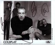 Coldplay Signed