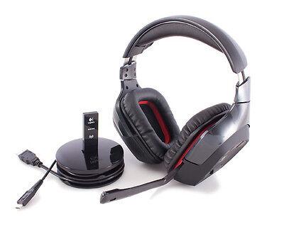 Logitech Wireless Gaming Headset G930 Kophörer Funk in OVP incl. USB Stick Wireless Usb Gaming Headset