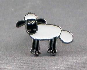 Metal Enamel Pin Badge Brooch TV Cartoon Shaun the Sheep