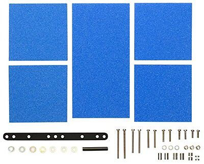 Tamiya 15512 Mini 4WD Brake Sponge Set Mild 1/2/3mm Blue