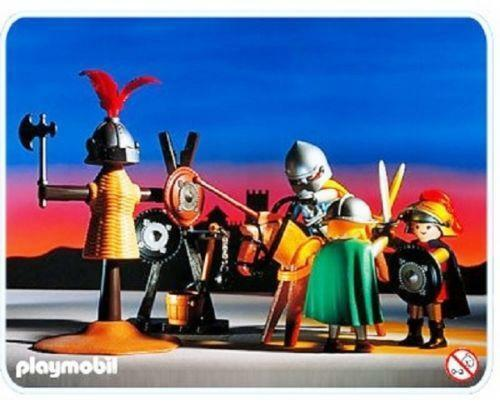 playmobil falcon knights castle instructions