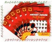 Mickey Mouse Nail Stickers