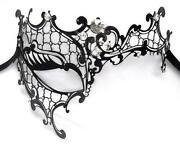 Venezianische Maske Metall
