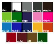 cricut vinyl sheets - Cricut Vinyl Colors