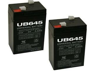 6 Volt Rechargeable Lantern Battery