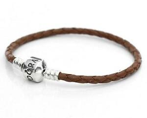 Pandora Brown Leather Bracelets
