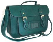 Leather Satchel Style Handbag