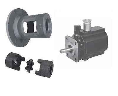 Hydraulic 11 Gpm Hi Lo Two 2 Stage Log Splitter Pump Bracket Couplers Kit