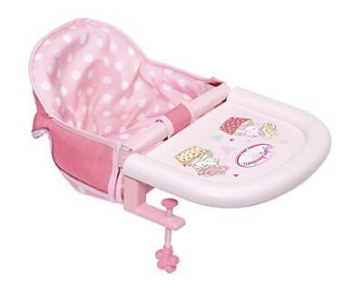 Zapf Creation Baby Annabell Feeding Chair Table Attachment Toy for sale  Shipping to United States