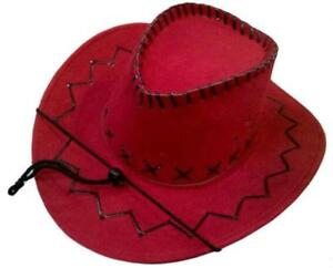 95b25547fed Kids Red Cowboy Hat