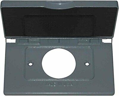 Greenfield C1.4hps Series Weatherproof Electrical Outlet Box Cover Gray