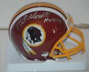 Washington Redskins Autographed Mini Helmet
