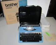 Vintage Brother Typewriter