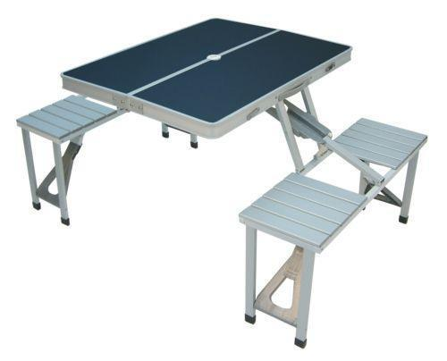 Folding Picnic Table And Chairs EBay