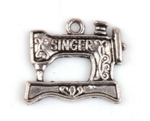 Sewing Machine Charm EBay Fascinating Pandora Sewing Machine Charm