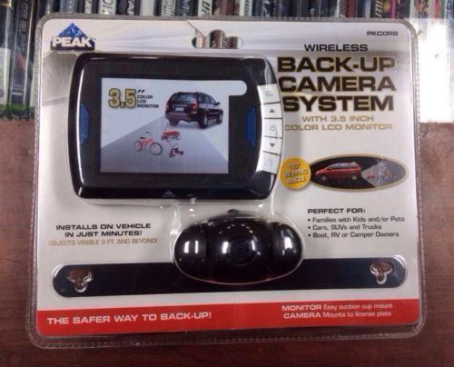 Peak Backup Camera Rear View Monitors Cams Amp Kits Ebay