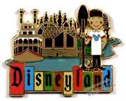 Disneyland Retro Pin