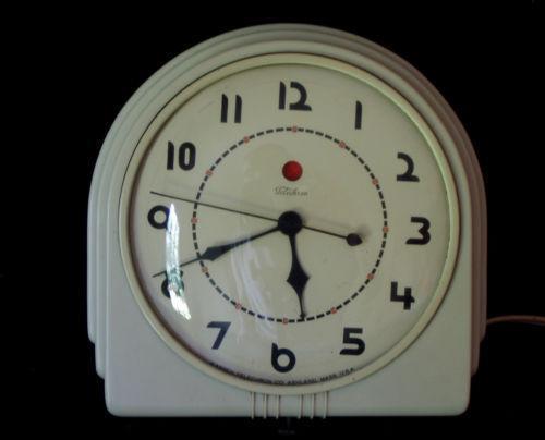 Vintage Art Deco Wall Clock Ebay