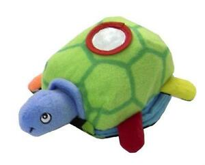 Soft Play Plush Mini Turtle Plush Toy and Book with Mirror