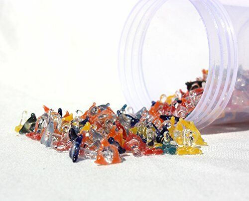 100 Count assorted Glass Jack  Style Pipe Screens(Quality Glass)USA